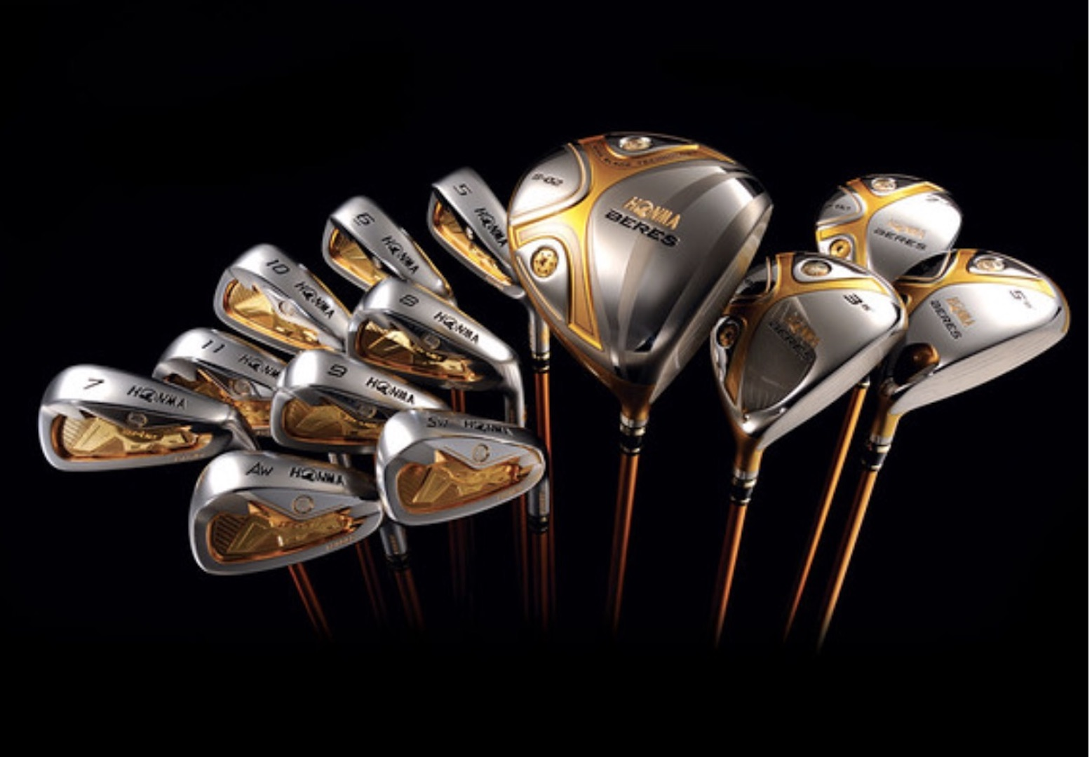 Honma Golf's $75,000 set of clubs