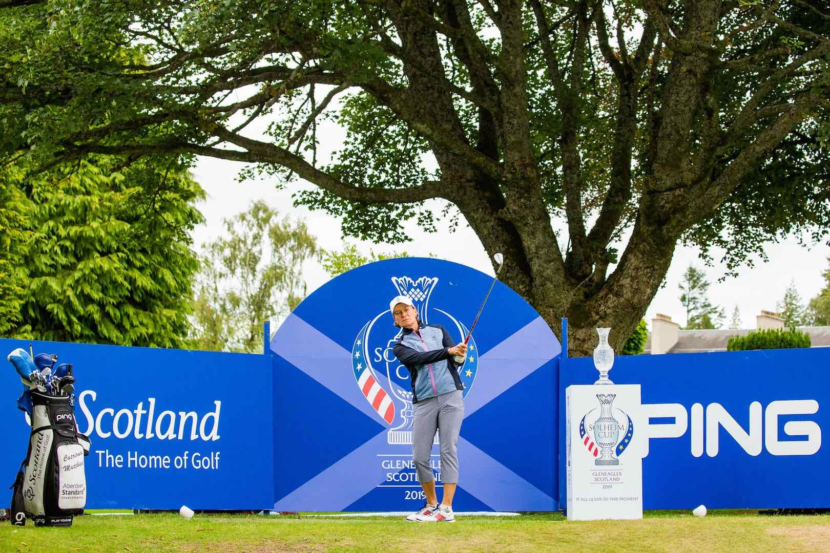 Solheim Cup could spark rise in female golfing visitors