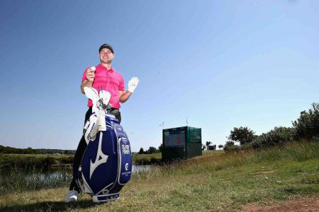 568482db0383 Oliver Fisher shoots 59 playing Mizuno irons and wedges