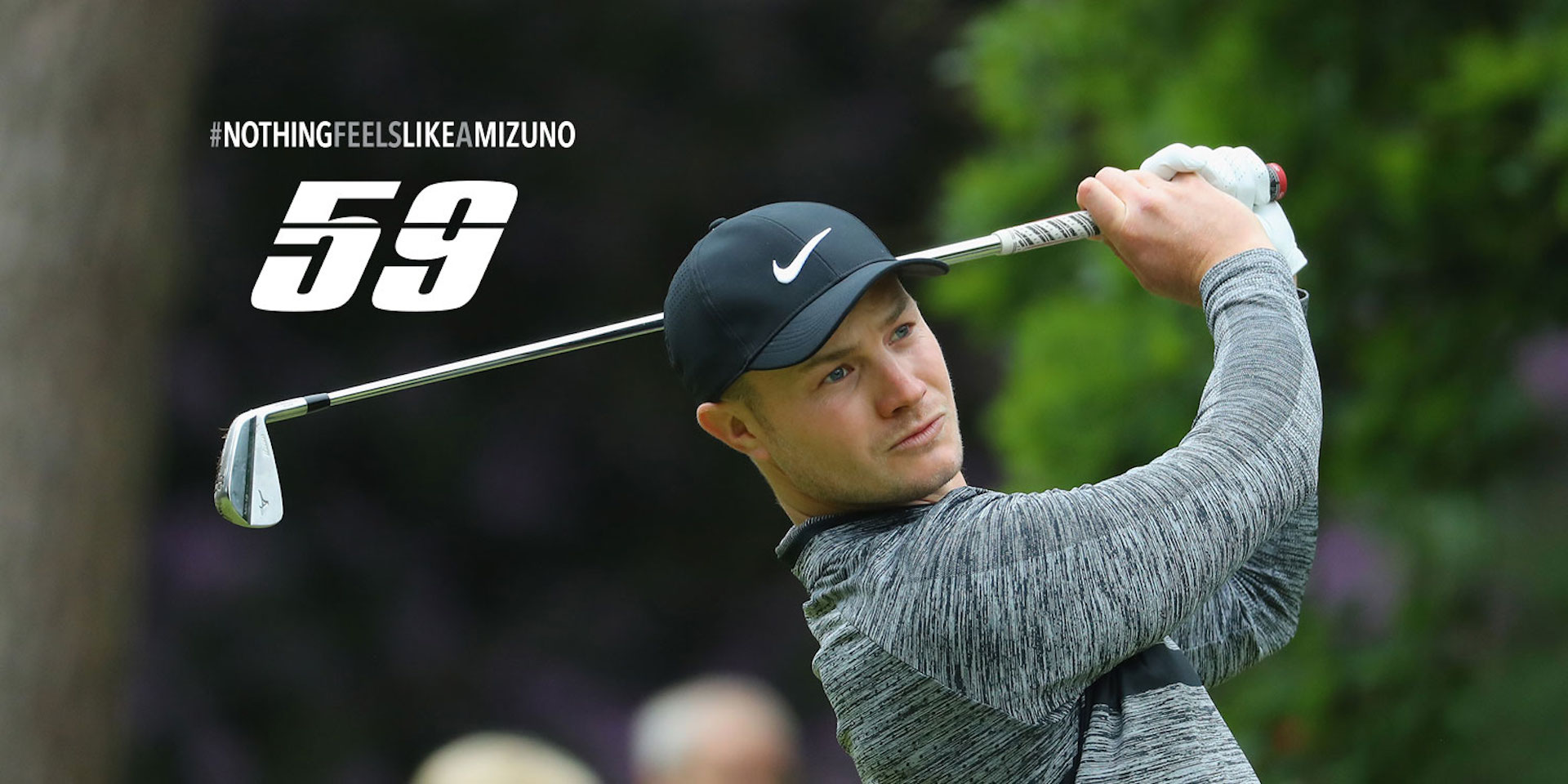 Oliver Fisher shoots 59 playing Mizuno irons and wedges
