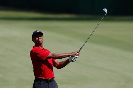 This is not a drill - Tiger Woods is back