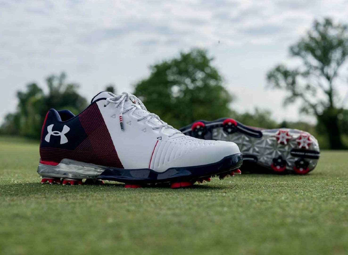 Spieth 2 in Red, White and Blue