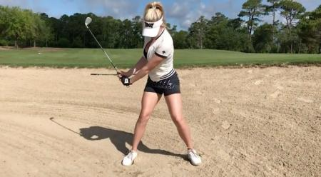 Paige Spiranac's guide to playing bunker shots