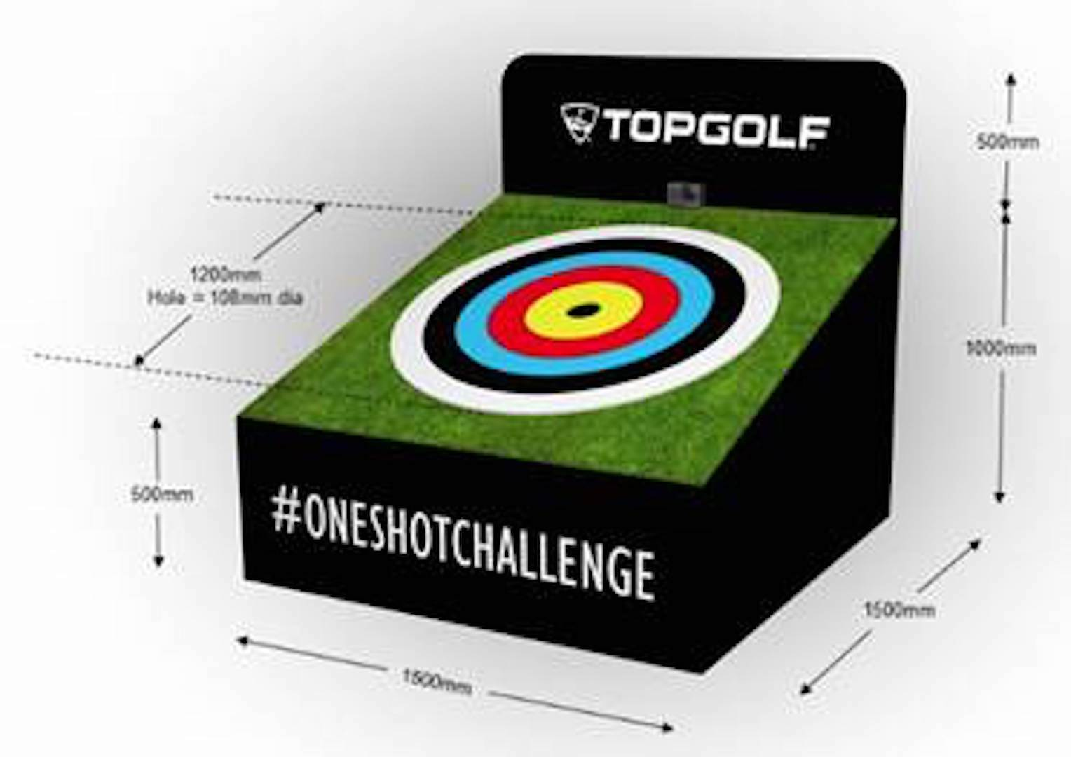 Get it in the hole for a prize of £1,000