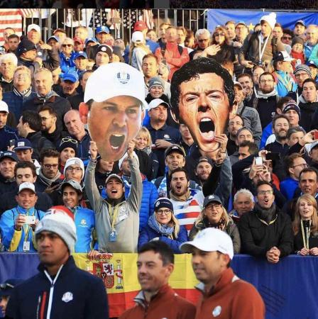 Revealed – Ryder Cup Sunday Singles Match Ups
