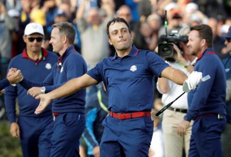 Custom-fit Bettinardi puts Molinari in Ryder Cup record books