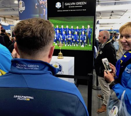 Galvin Green shares in Europe's Ryder Cup Success