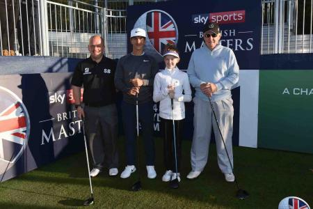 Bridgestone trophy winners in dream round with Ryder Cup hero