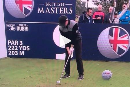 Is this the craziest hole in one ever from Eddie Pepperell?