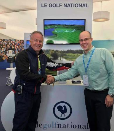 Toptracer Range technology unveiled at Ryder Cup host venue