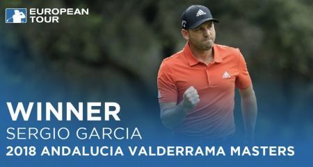 Sergio Garcia seals victory at Andalucía Valderrama Masters