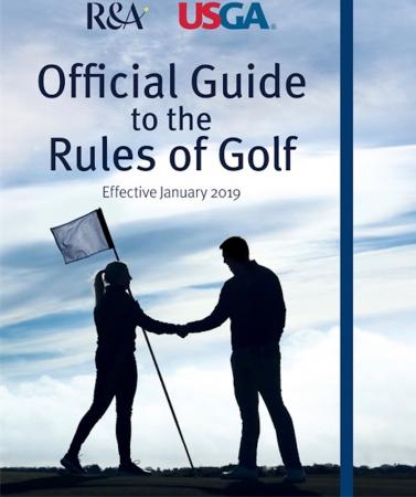 Official Guide to the Rules of Golf to be launched