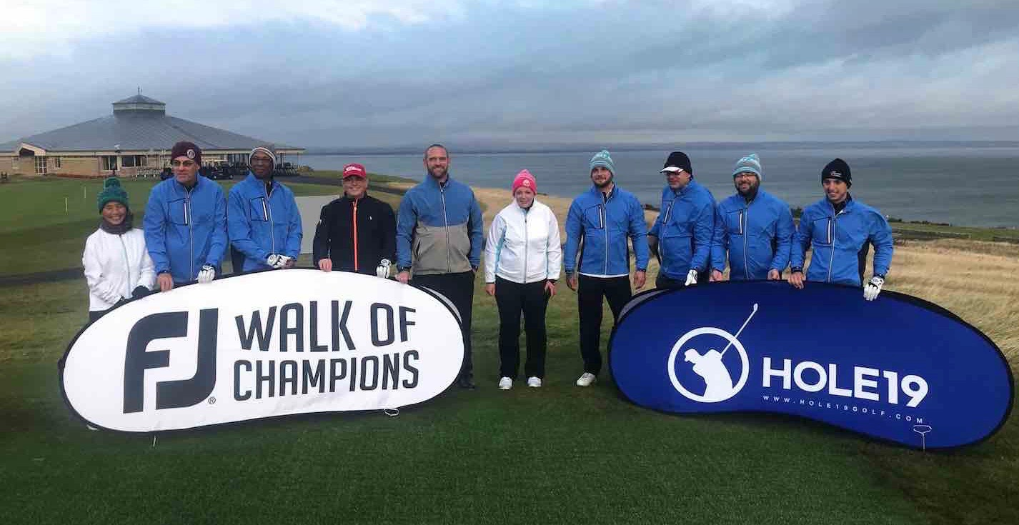 FJ Walk of Champions Final staged at St Andrews