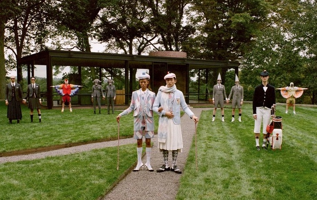 Fashion designer Thom Browne reveals 'ambitious' golf range