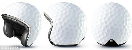 Golfers to be forced to wear crash helmets