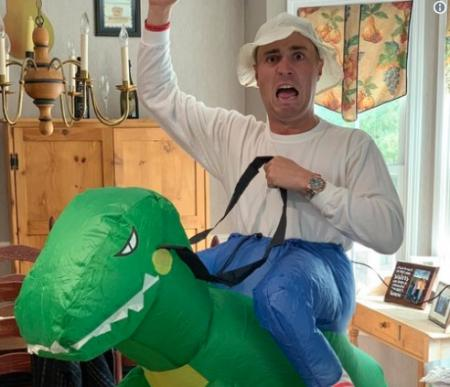 Halloween capers of the PGA Tour stars