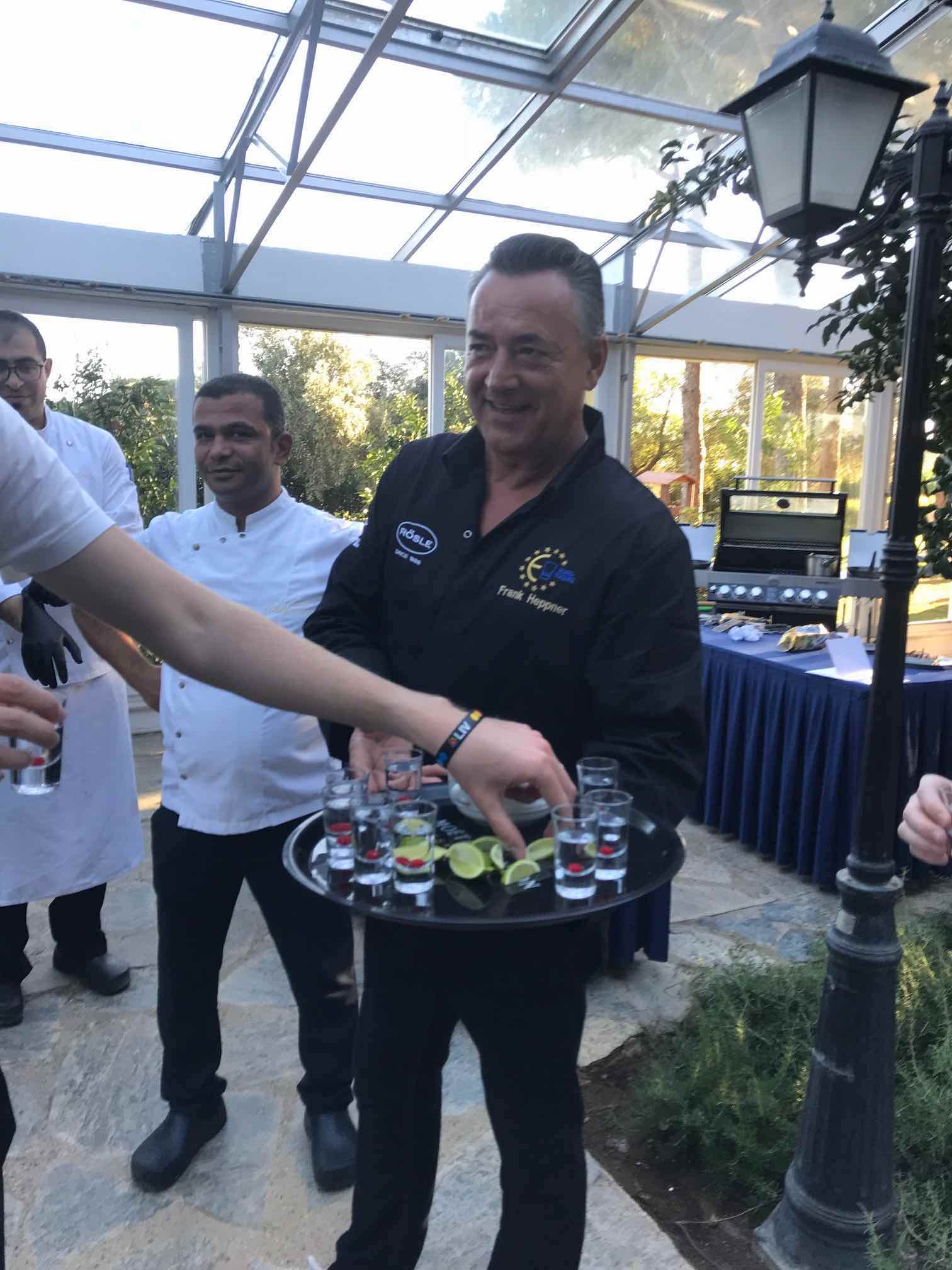 It's a serious BBQ experience at ROBINSON Club Nobilis
