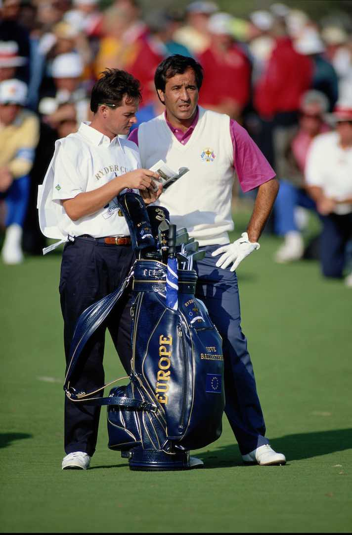 Golf's Top 10 caddie chats