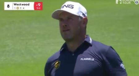 Lee Westwood fights back the tears after Nedbank win