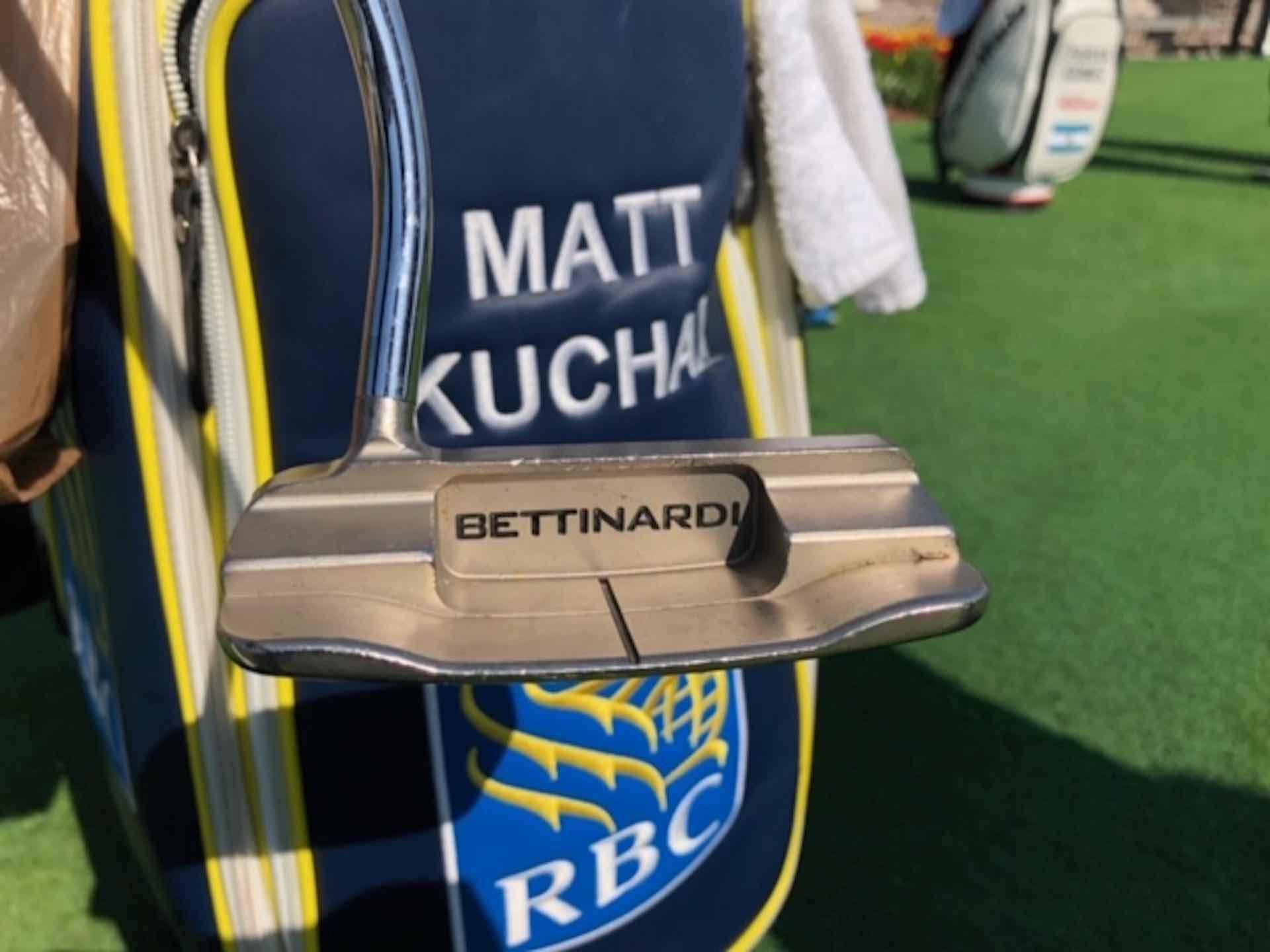 Kuchar's faith in his Bettinardi putter pays off