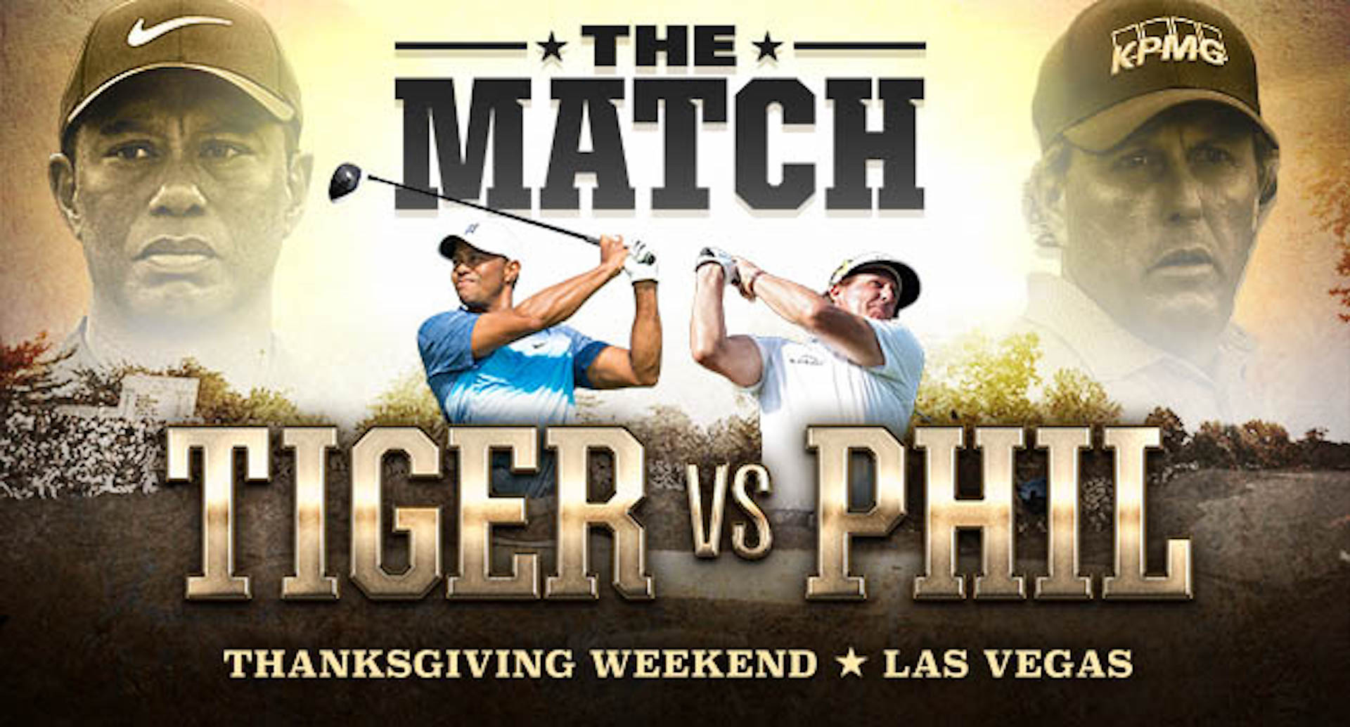 How to watch Phil Mickelson versus Tiger Woods
