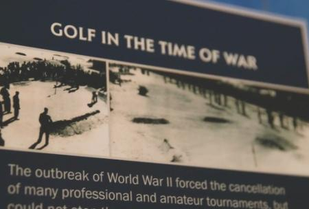 World War II golf