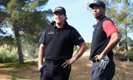 Tiger, Phil Mickelson