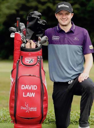 Wilson Staff signs Scottish Tour Star