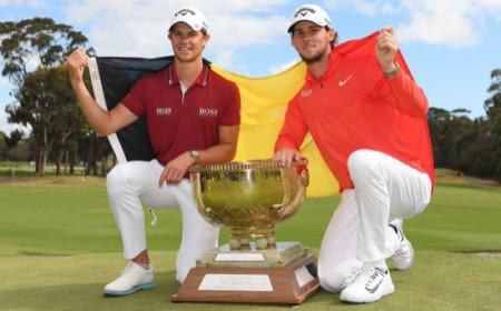 Belgian bombers  win the World Cup Of Golf