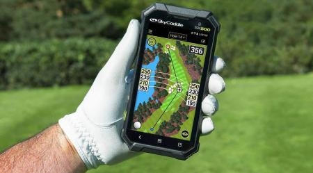 SkyCaddie SX500 yardages match laser, says PGA winner