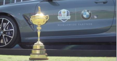 BMW confirmed as worldwide Ryder Cup sponsor