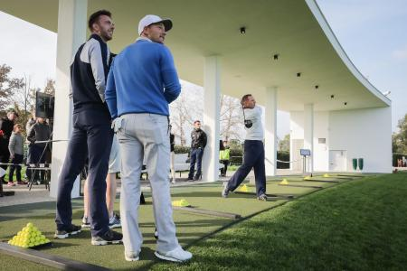 Sergio Garcia launches The Golf Hub at PGA La Catalunya