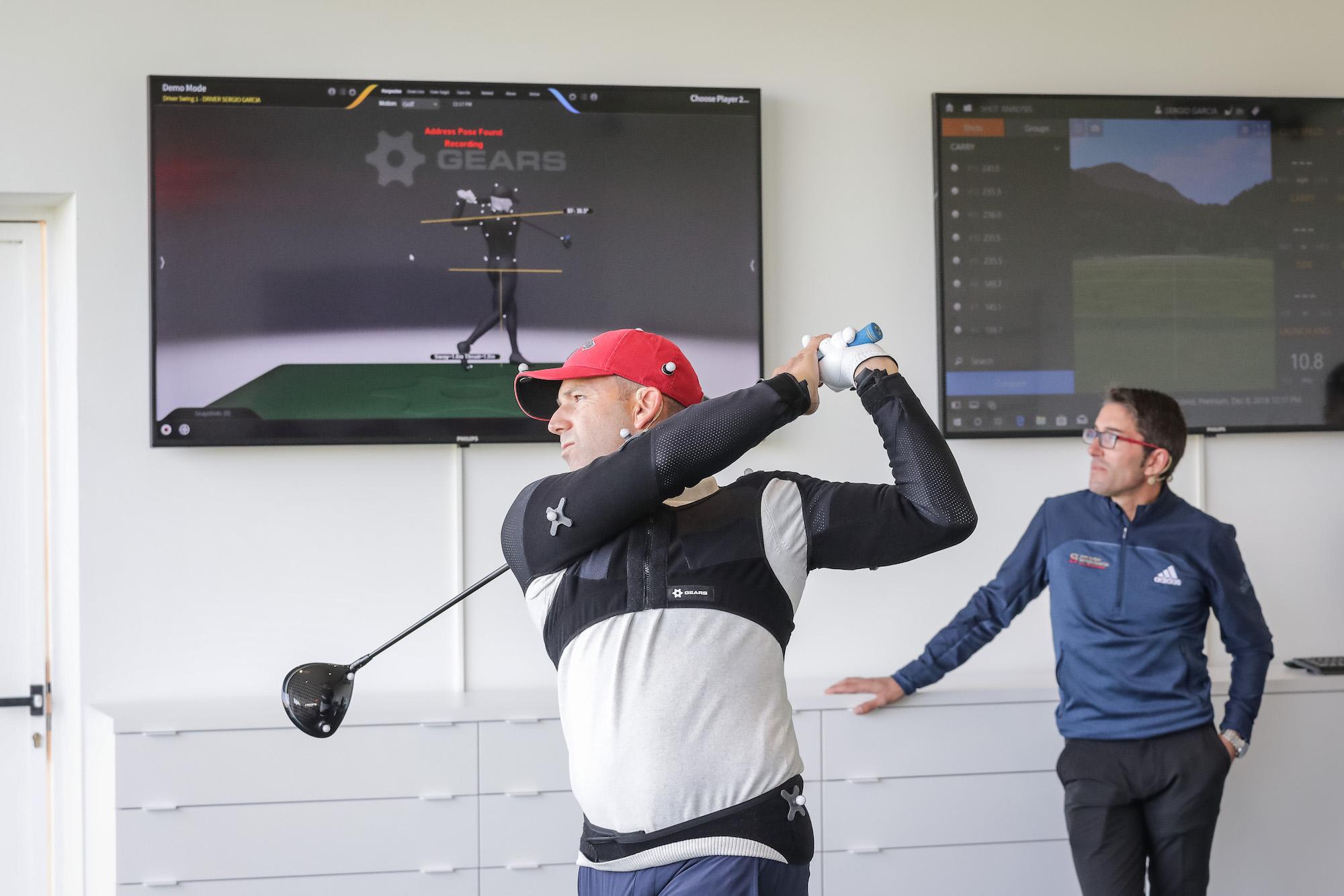 Sergio Garcia launches The Golf Hub at PGA La Catalunya