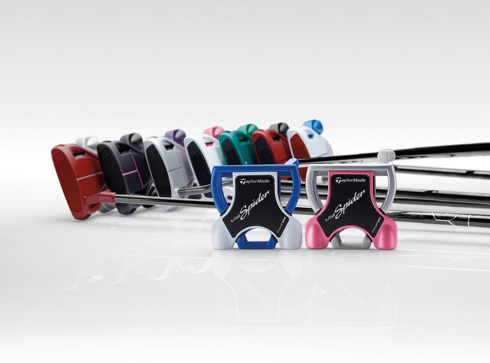 TaylorMade introduces MySpider Personalised Putter Programme