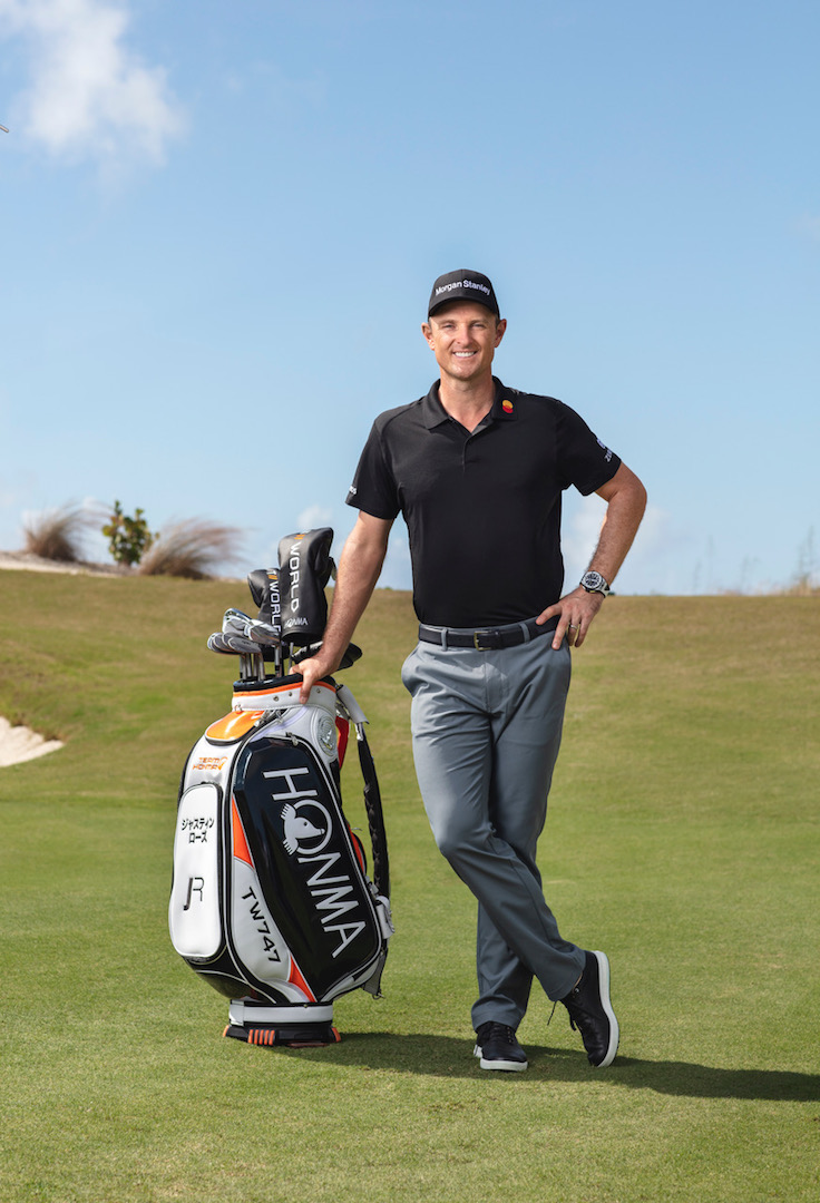 Honma and Justin Rose sign multi-year partnership