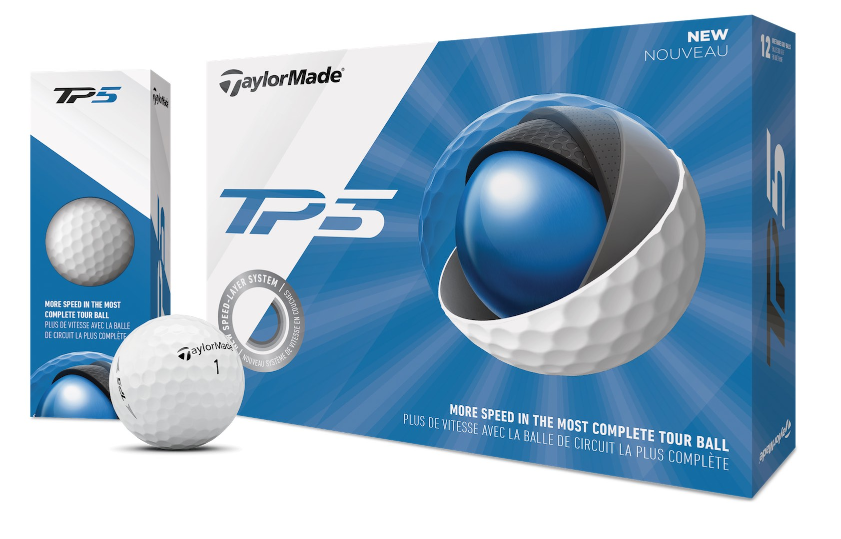 TaylorMade launch TP5 & TP5X golf balls for 2019