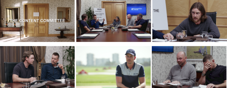 The European Tour presents the Content Committee