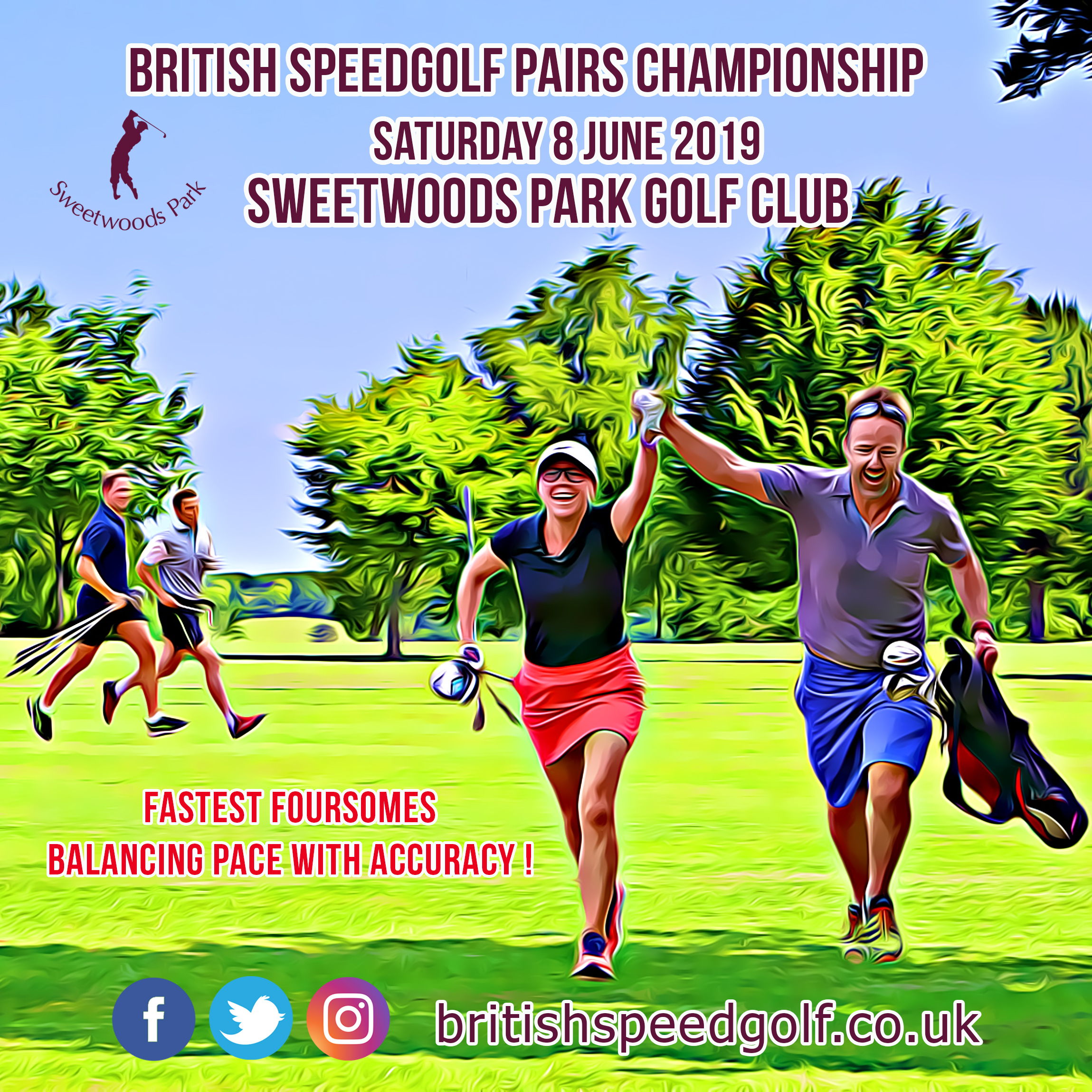 2019 British Speedgolf Pairs Championship announced