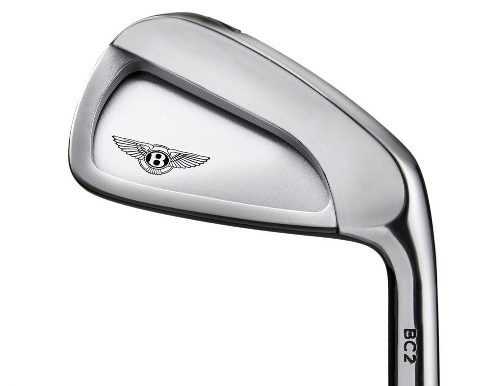 Bentley's new golf clubs? £420.00 a pop...