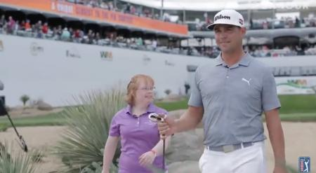 Gary Woodland and Down syndrome golfer steal Phoenix show