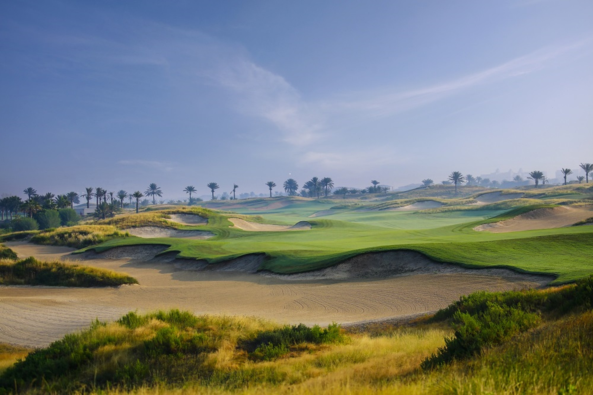Golf in Abu Dhabi Produces a January to Remember