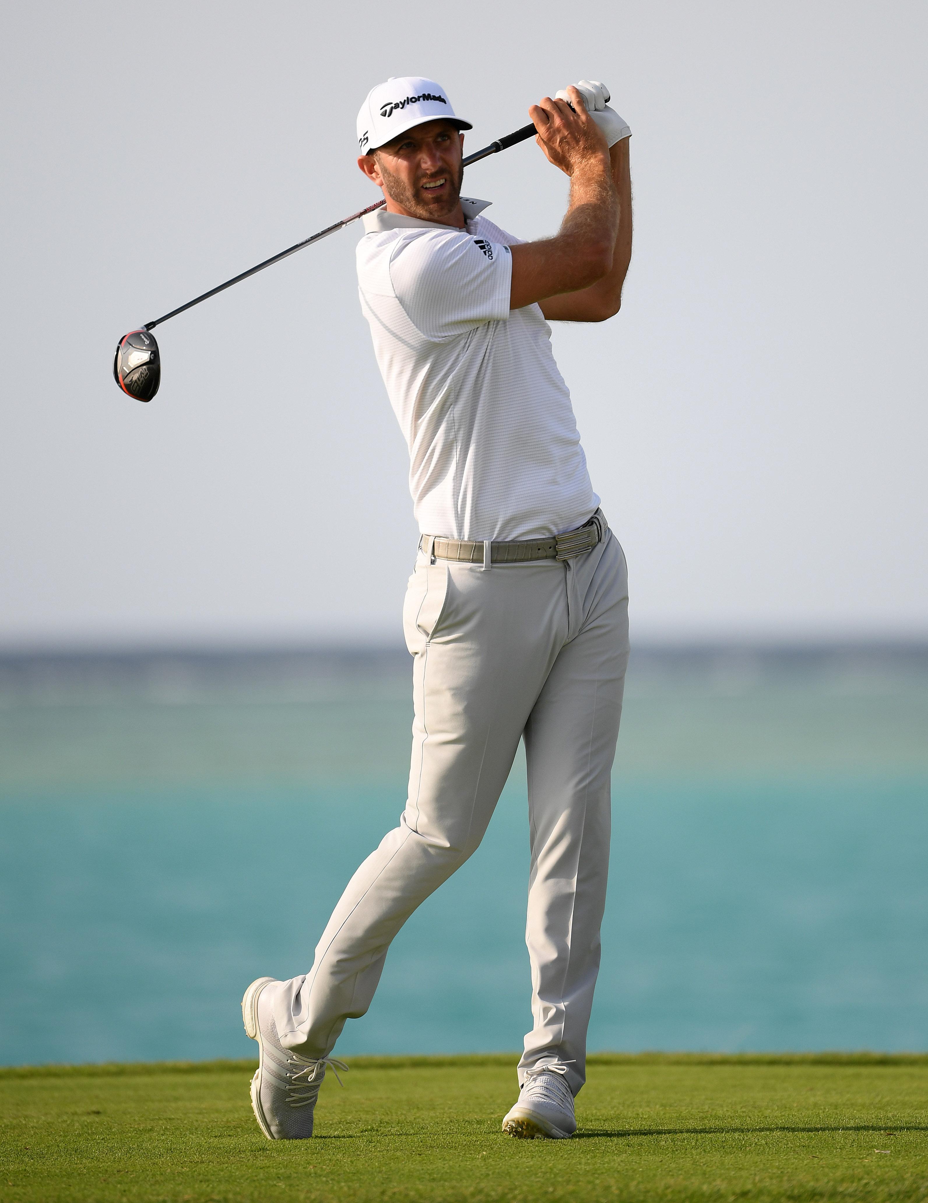 Dustin Johnson wins Saudi International