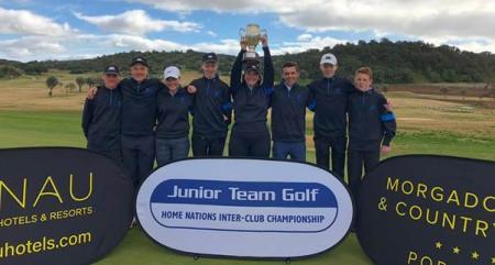 Brilliant Burhill Juniors claim prestigious Home Nations title