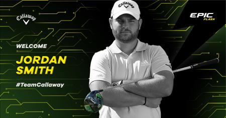 Jordan Smith joins #TEAM CALLAWAY