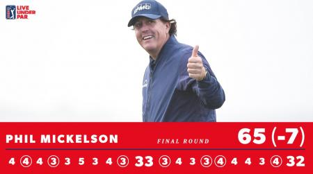 Phil Mickelson Pebble 2019