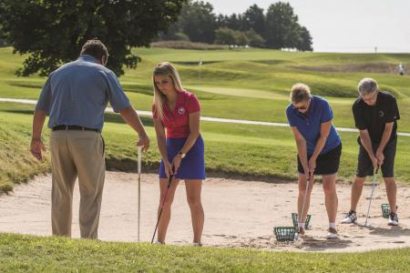 Dave Pelz Golf Schools pitch up at Foxhills