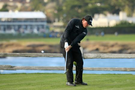 G/Fore Ambassador Phil Mickelson puts on Pebble Beach masterclass