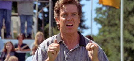 Shooter McGavin placates superfan Tiger!!
