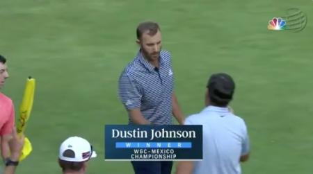 Dustin Johnson cruises to WGC victory in Mexico