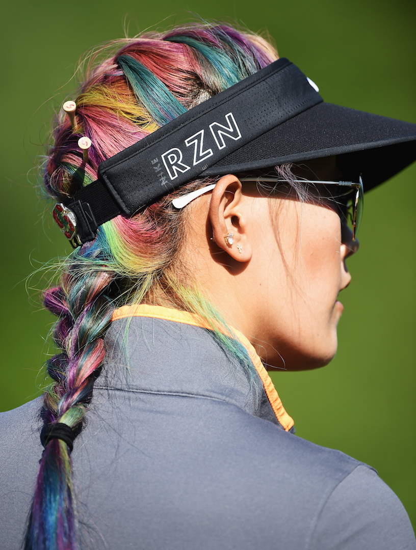 Michelle Wie Punks Up!